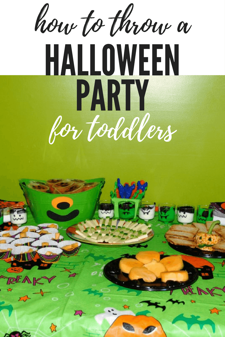 halloween party for toddlers
