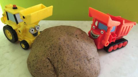 dirt play dough recipe spring craft ideas preschool toddler