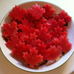 simple canada day treat watermelon maple leaf parenting moncton