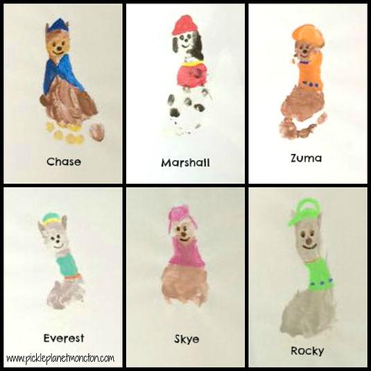 Paw Patrol Crafts For Kids