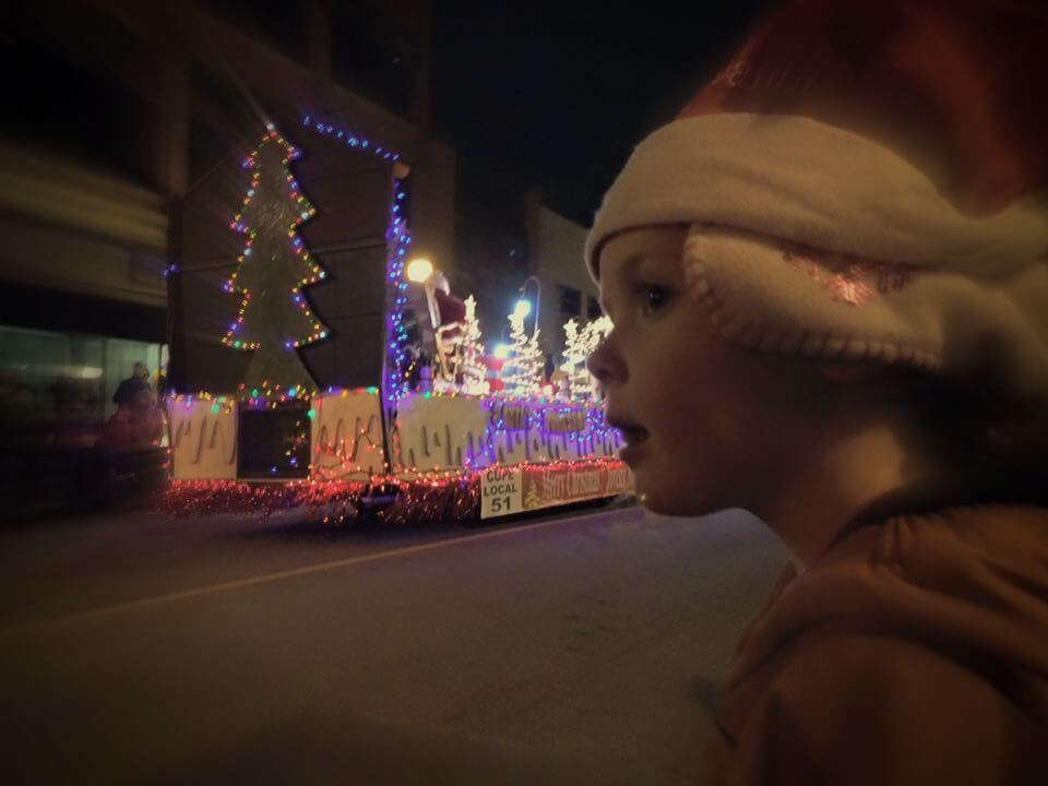 santa parade weekend moncton