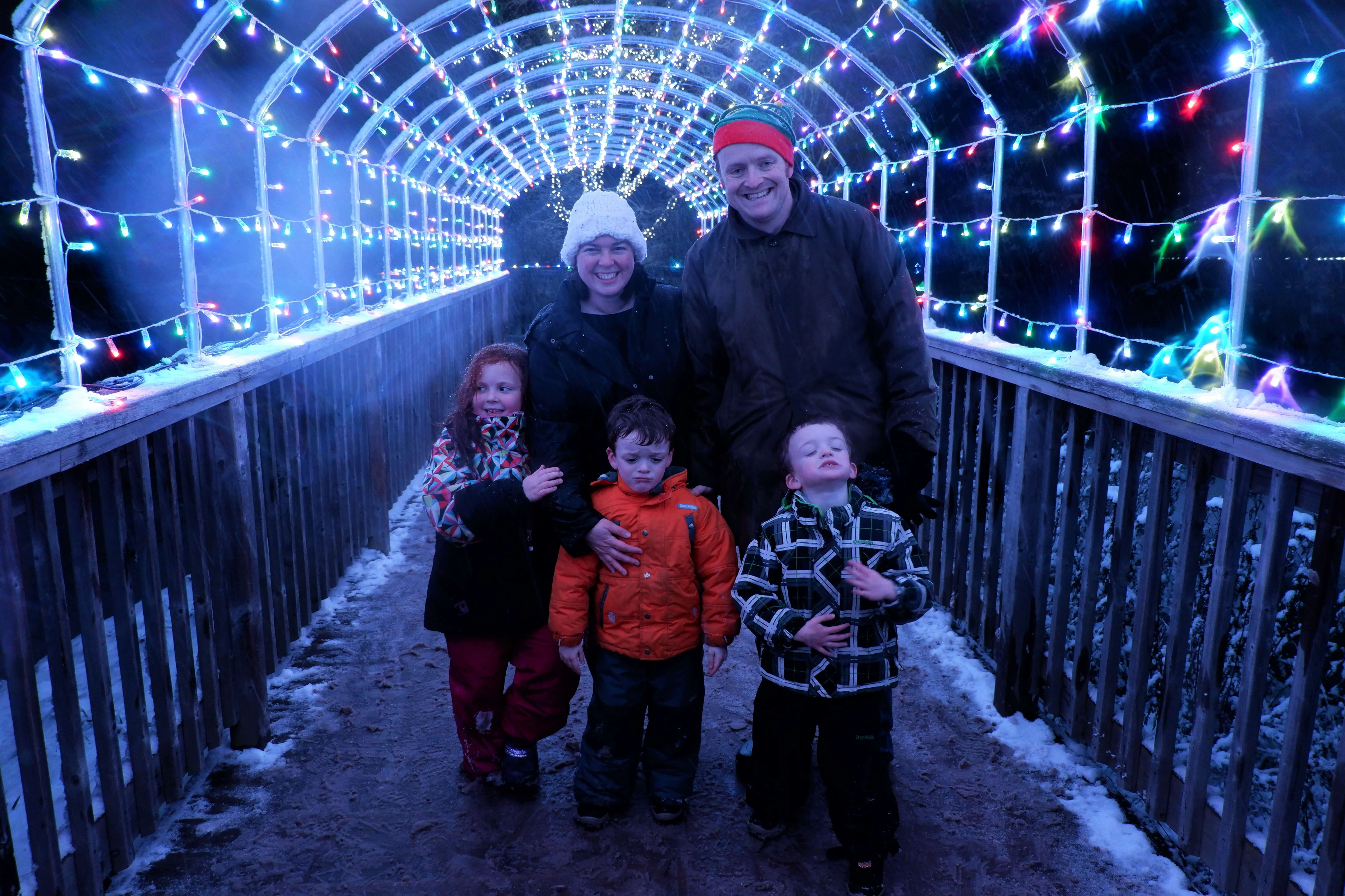 where to see christmas lights moncton zoo