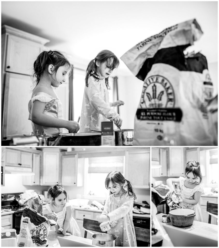 snow day kids baking ideas