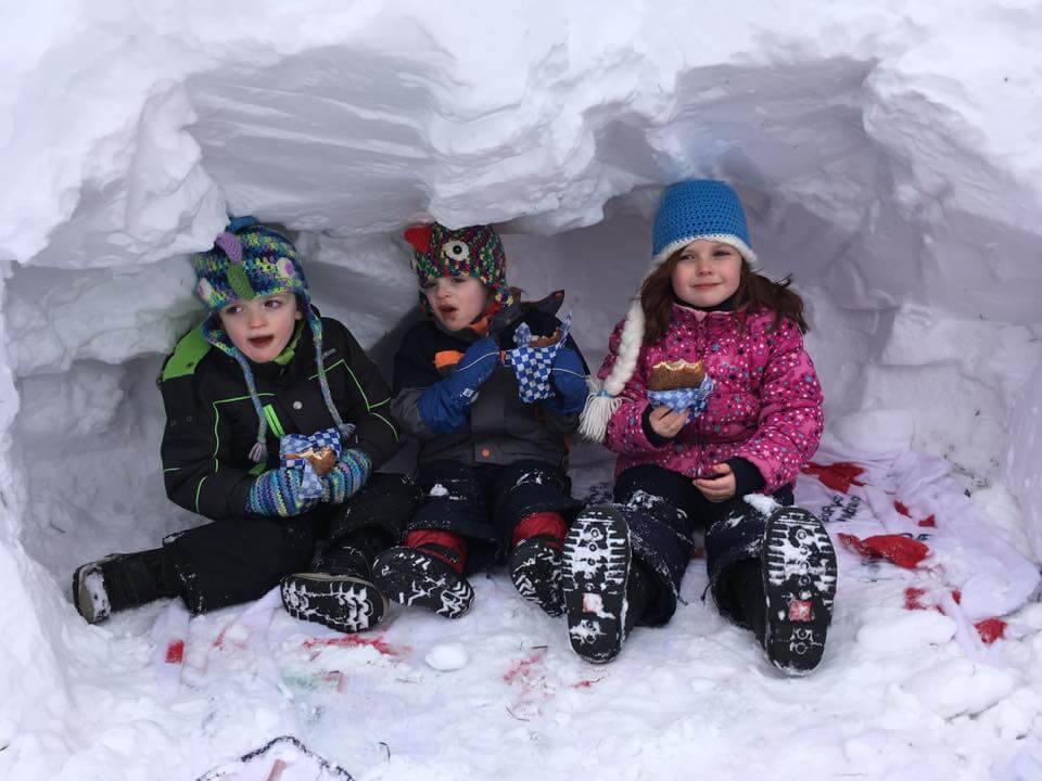 winter weekend fun kids moncton