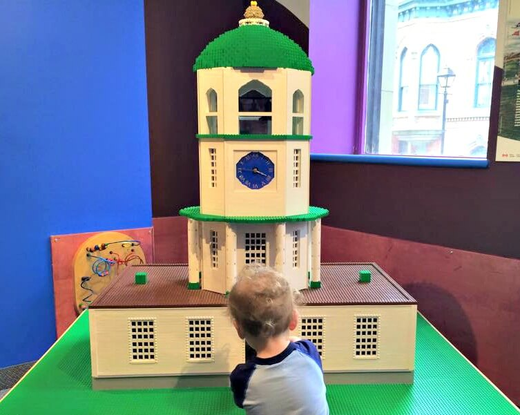 halifax citadel clock lego discovery centre mini vacation wtih little kids