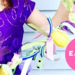 Easy Easter DIY Banner Pickle Planet Moncton