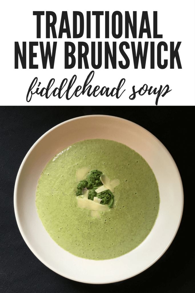 traditional new brunswick fiddlehead soup recipes season fine cooking home