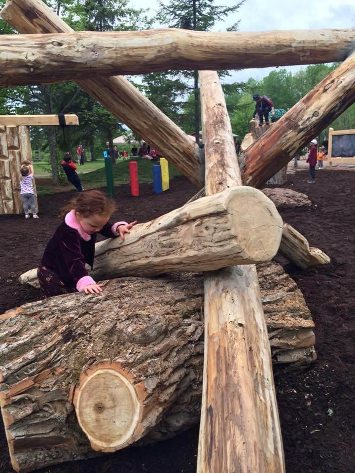 salisbury's highland park natural playground