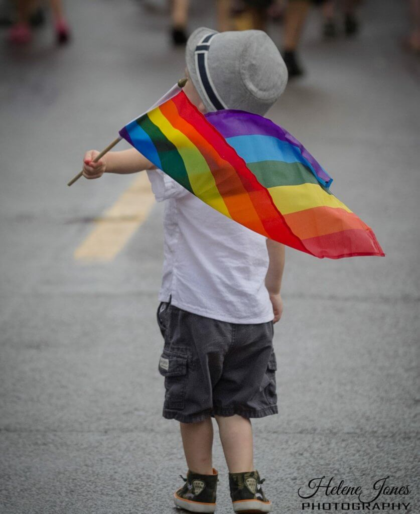 take kids pride parade