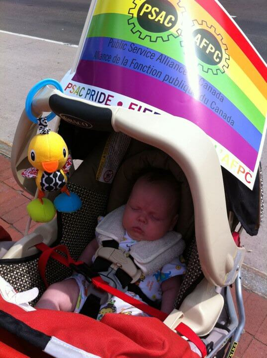 332ac4c77 first pride parade • Pickle Planet Moncton