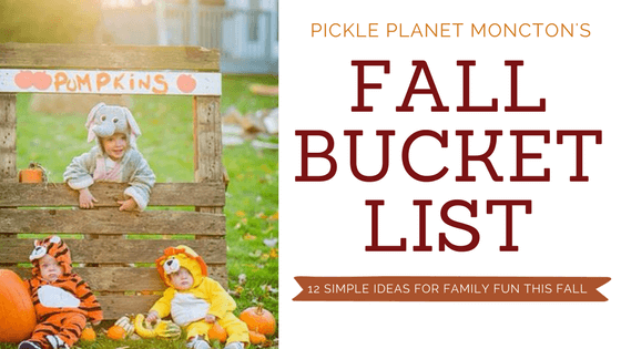 12 Simple Ideas for Fall Fun with the Family in our Fall Family Bucket List