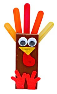 Thanksgiving Day Wooden Turkey Craft DIY