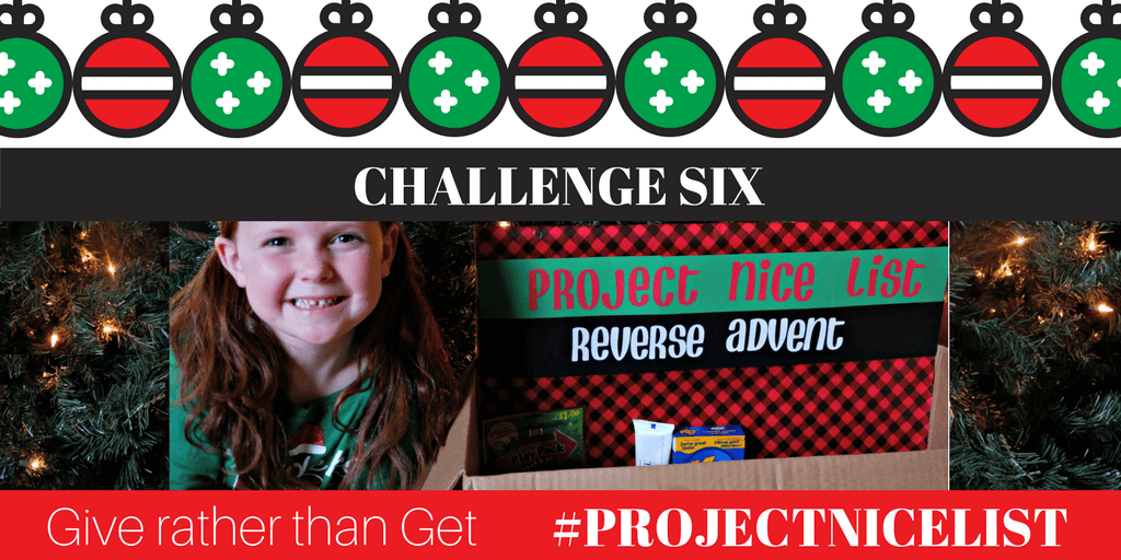 project nice list reverse advent calendar teaching giving christmas moncton