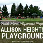 ALLISON HEIGHTS PLAYGROUND RIVERVIEW MONCTON DIEPPE PARK REVIEW PICKLE PLANET