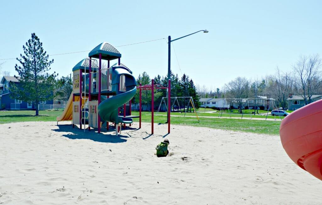 best playground park moncton riverview dieppe Goldsboro Park lots of room