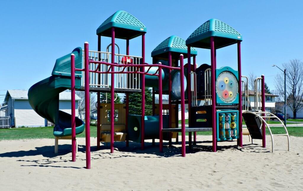 best playground park moncton riverview dieppe Goldsboro Park playground equipment