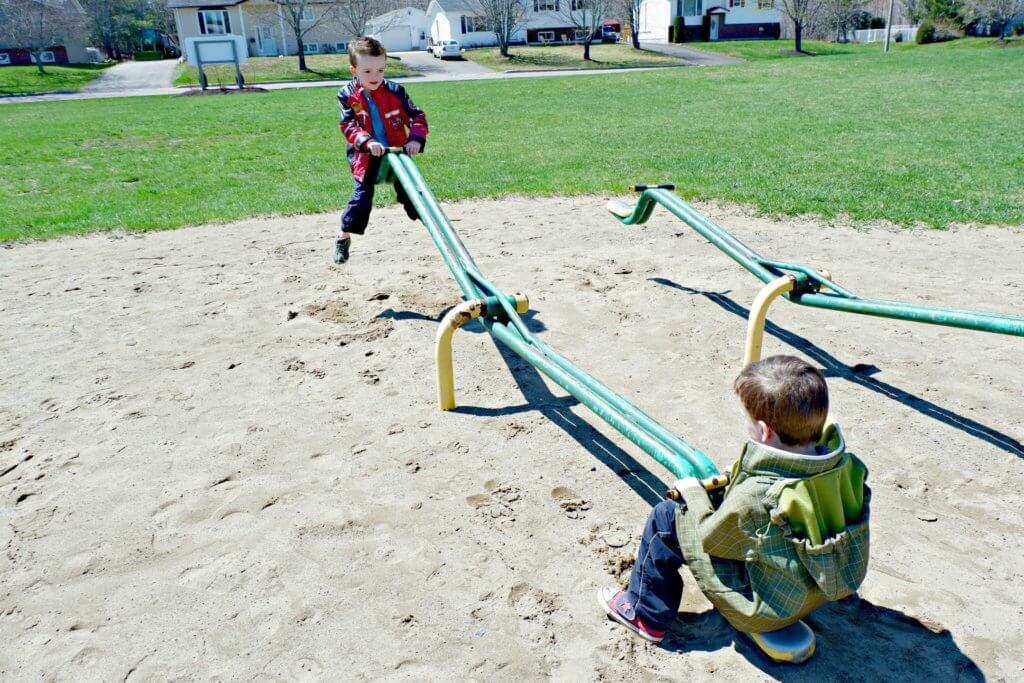 best playground park moncton riverview dieppe Goldsboro Park teeter totters