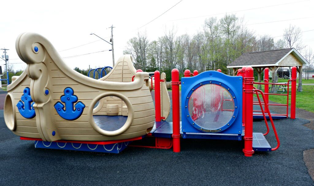 best playground park moncton riverview dieppe rotary accessible pirate ship
