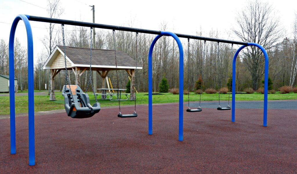 best playground park moncton riverview dieppe rotary accessible swing sets