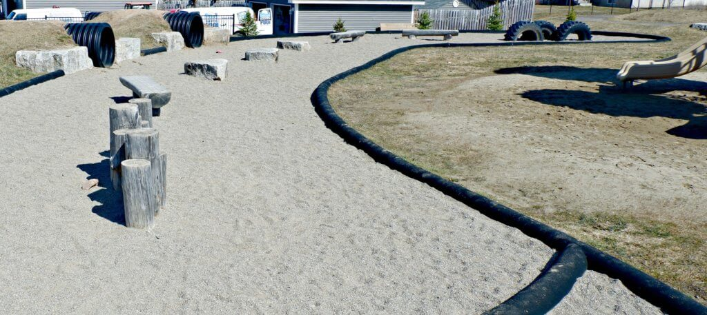 rebecca avenue playground park natural riverview moncton pickle planet