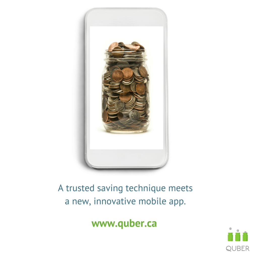 quber money saving app fintech moncton