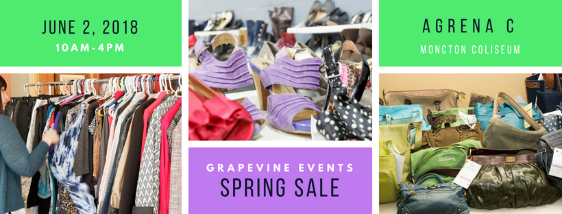 consignment moncton shop women's clothes grapevine events