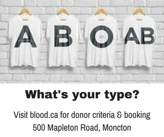 moncton donate blood give life