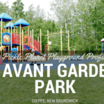 avant garde moncton riverview dieppe best playground park pickle planet