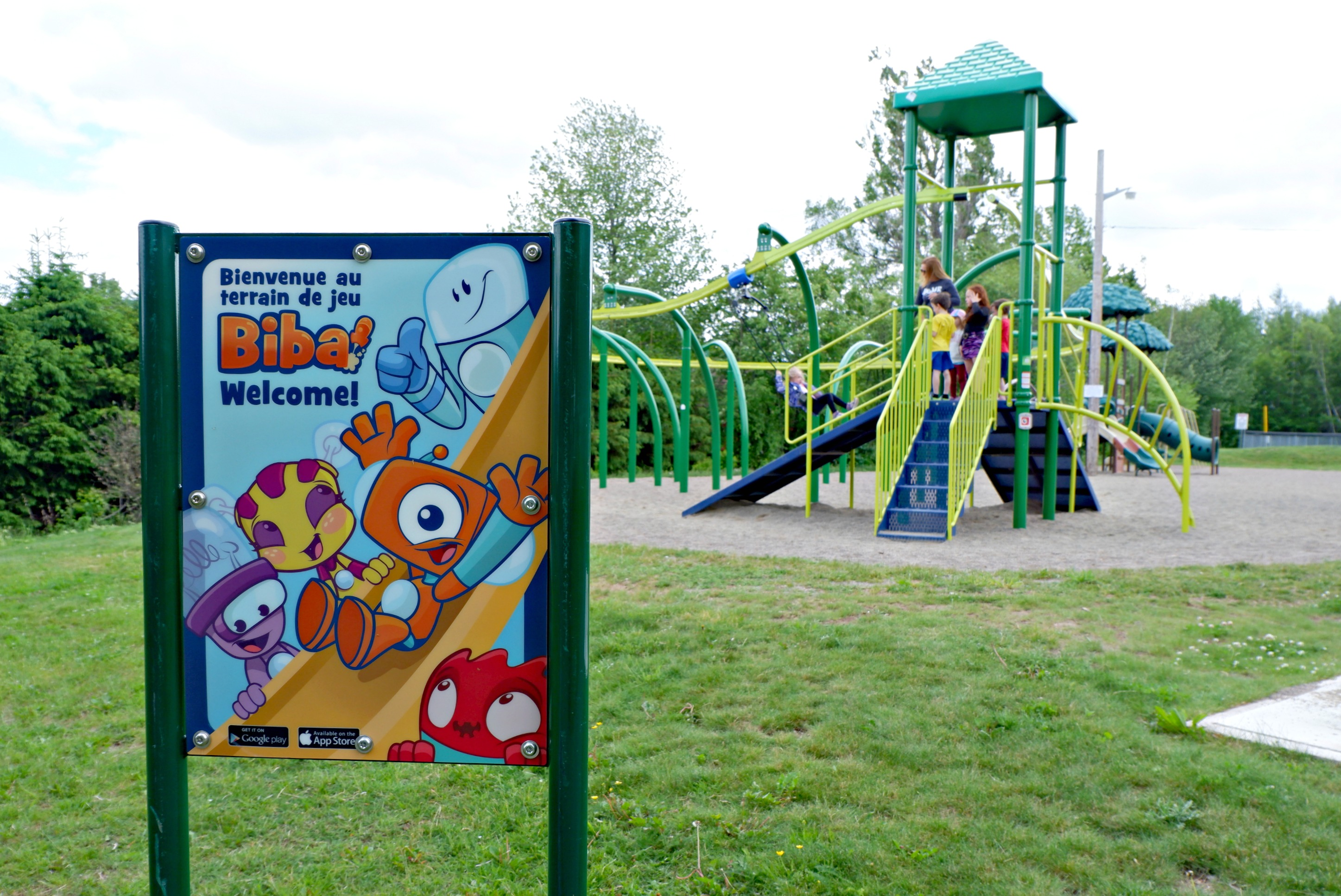 bridgedale playground riverview moncton dieppe best park play space pickle planet biba app