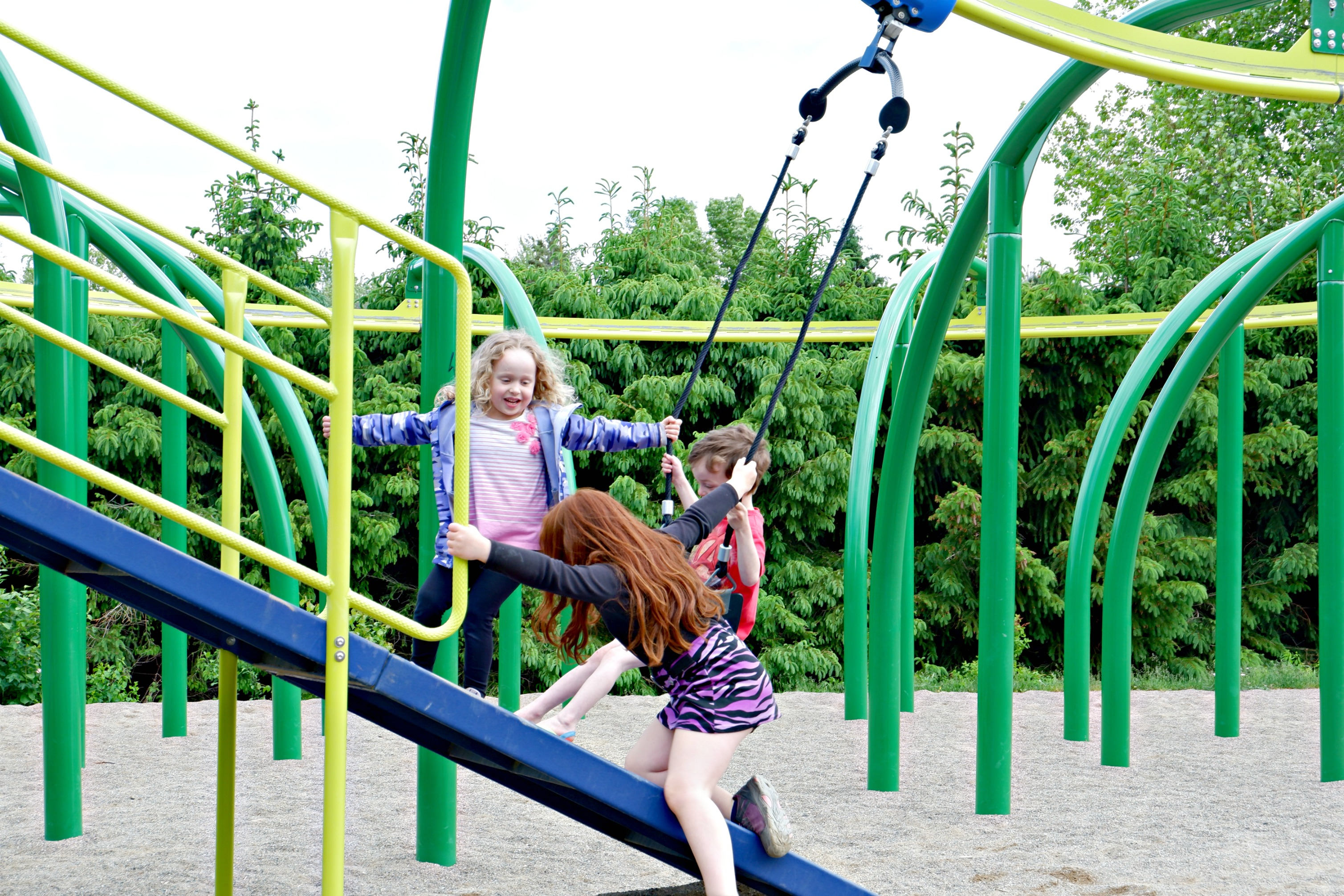 bridgedale playground riverview moncton dieppe best park play space pickle planet friends
