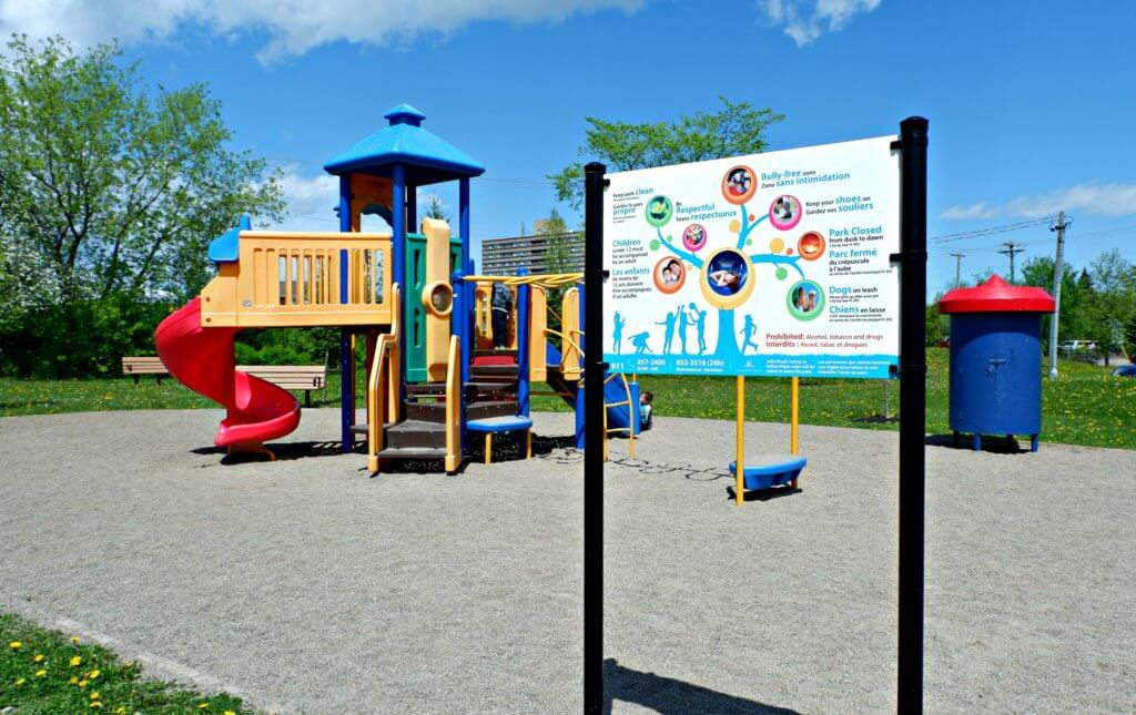 prince edward playground moncton dieppe riverview best parks