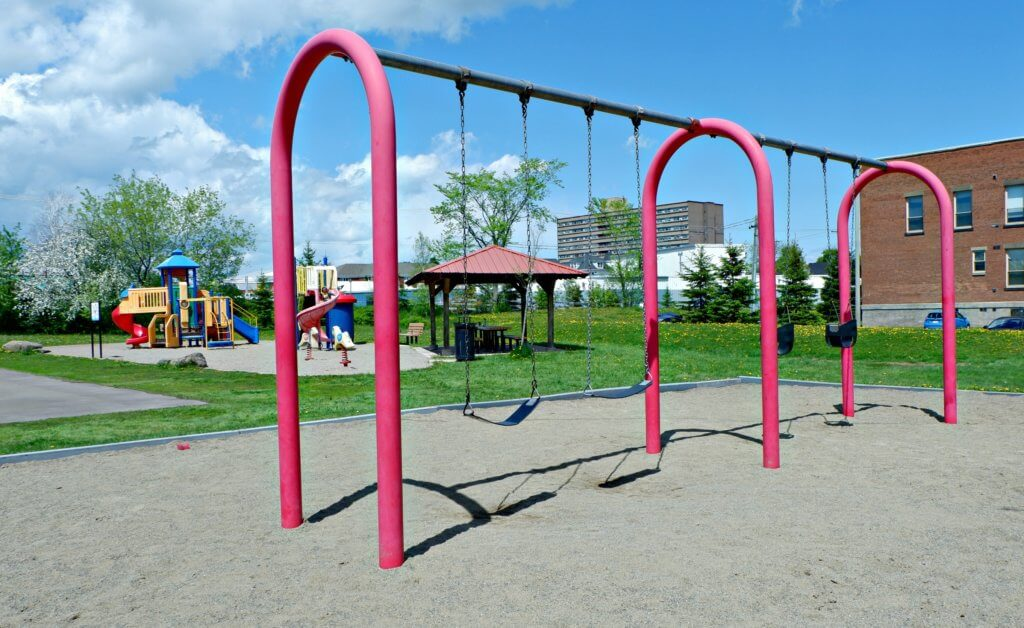prince edward playground moncton dieppe riverview best parks swings