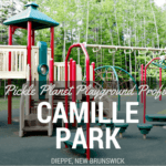 CAMLLE PARK moncton riverview dieppe best playground park pickle planet