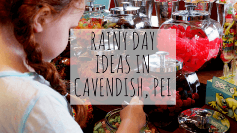 Rainy Day in Cavendish with the Kids ideas family fun vacation rain pei what to do Moncton pickle planet