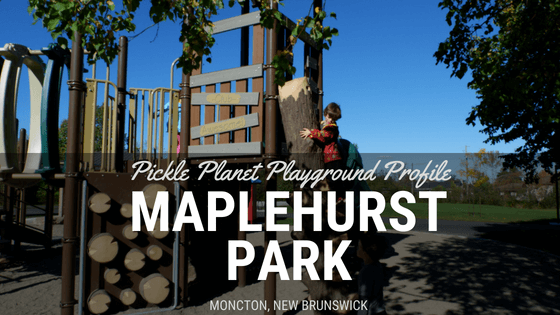 maplehurst PARK moncton riverview dieppe best playground park pickle planet