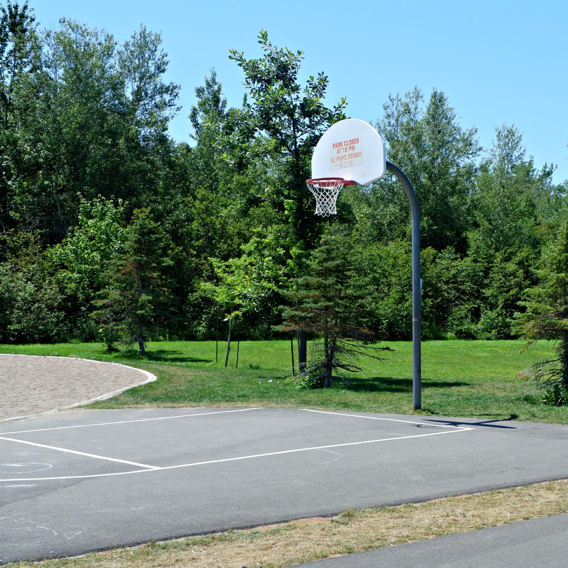 maplehurst park playground moncton riverview dieppe best play new brunswick basketball