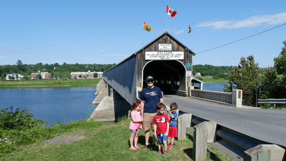 new Brunswick tourism hartland bridge drive through attractions highway covered bridge