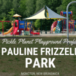 PAULINE FRIZZELL PARK moncton riverview dieppe best playground pickle planet SPLASH PAD