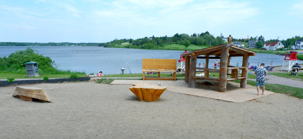lillas fawcett park silver lake playground beach sackville moncton new brunswick summer spot best places kids family swim
