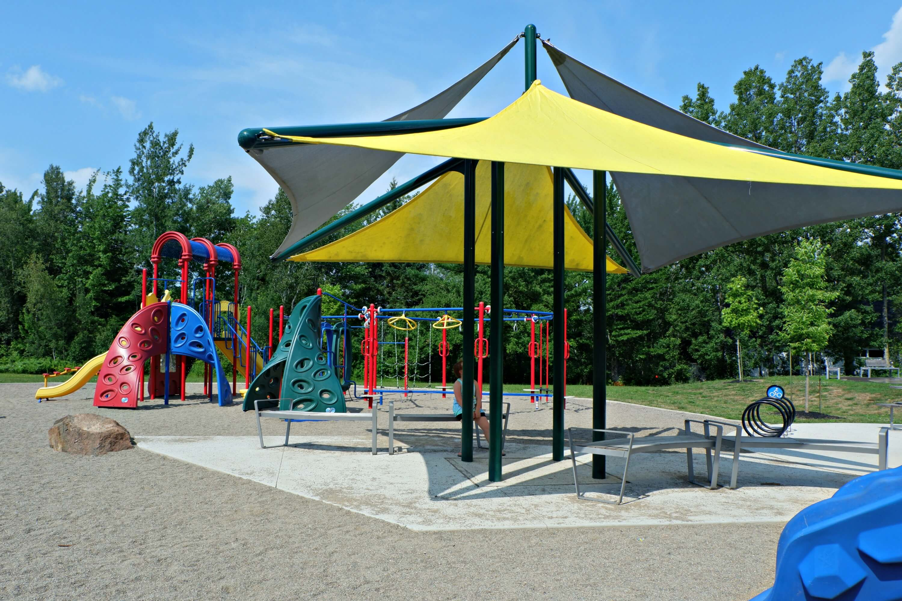 pauline frizzell park playground moncton riverview dieppe best pickle planet review climbing shade