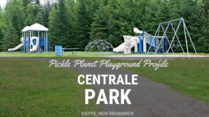 DIEPPE CENTRALE ISABELLE playground park moncton PICKLE PLANET