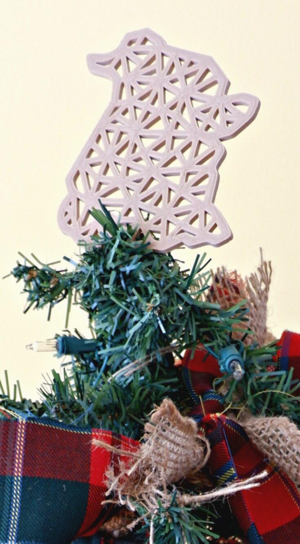 Scottish Pioneer Inspired Christmas Tree MyNBChristmasTree New Brunswick pickle planet high tide design ornament