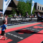 cerebral palsy runner celebrity endorsement role model inspiration ironman kids triathlon race
