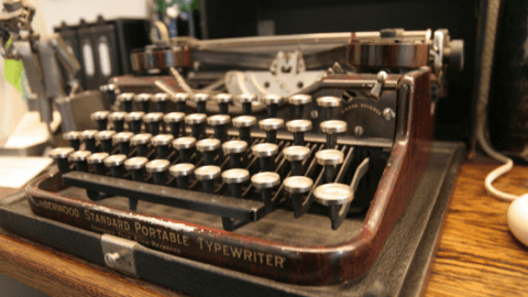 fast paced life speeding up time typewriter repair music