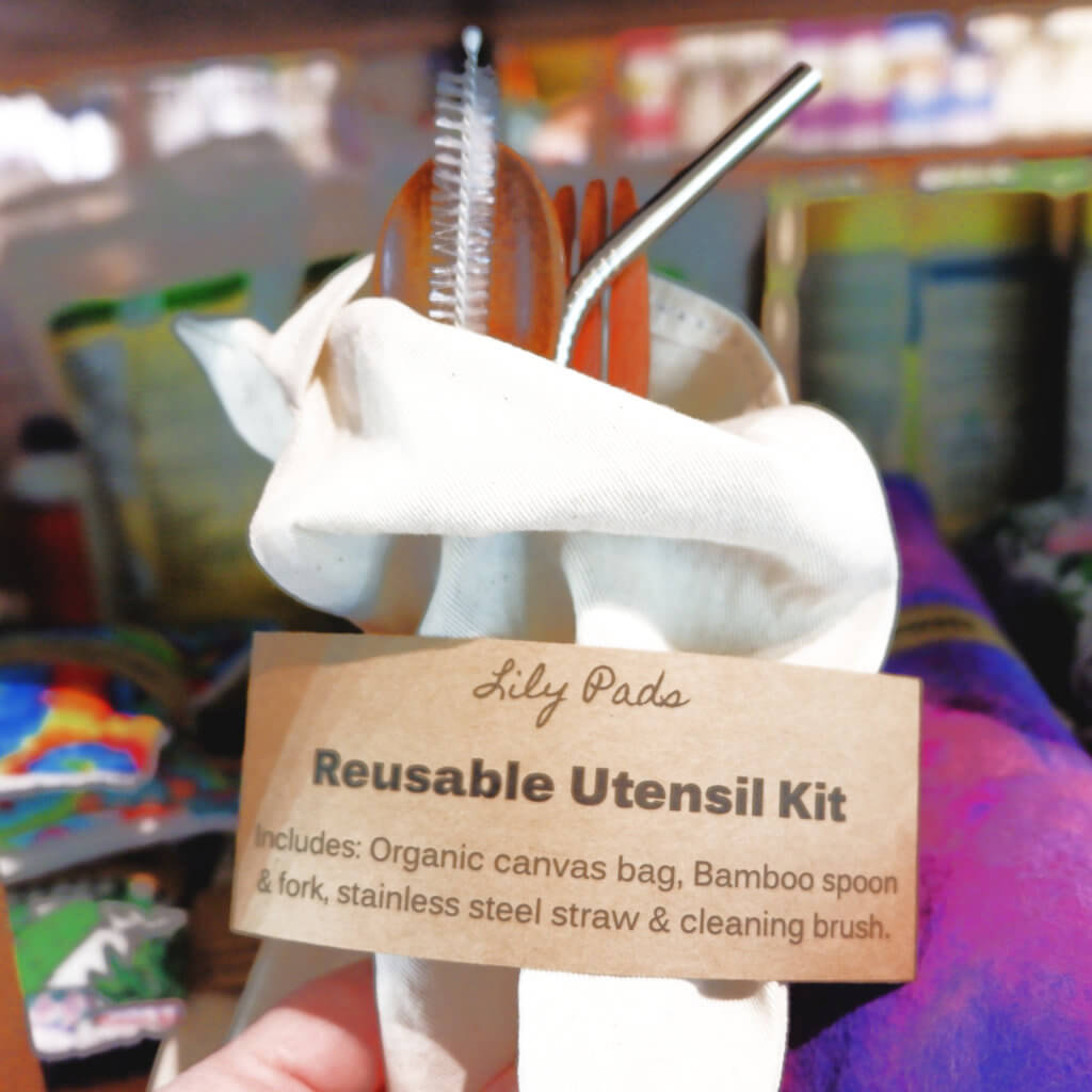 sequoia downtown eco-friendly gift ideas moncton riverview dieppe reusable utensils bamboo
