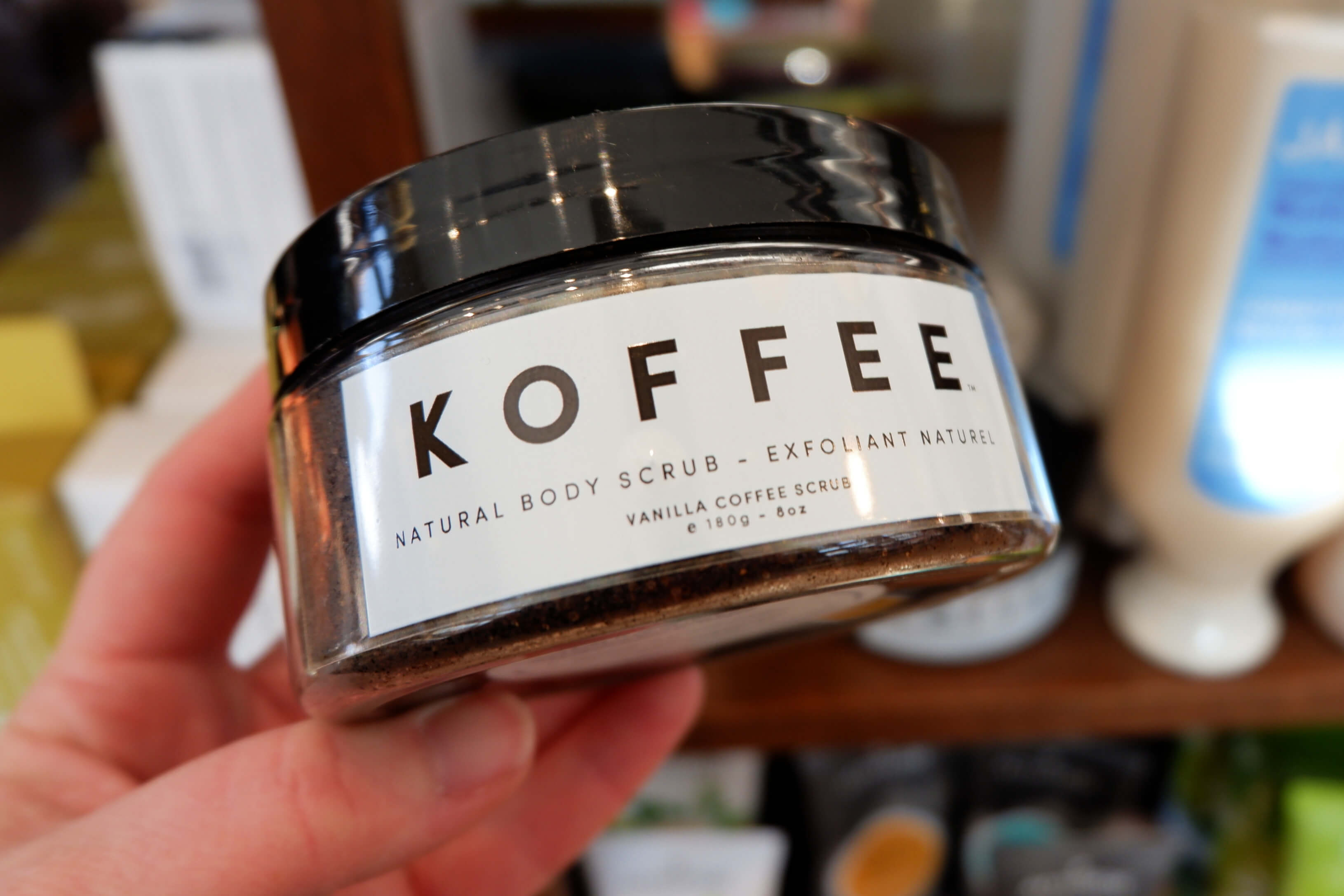 sequoia downtown koffee organics scrub gift ideas her mother day chirstmas self care facial moncton riverview dieppe