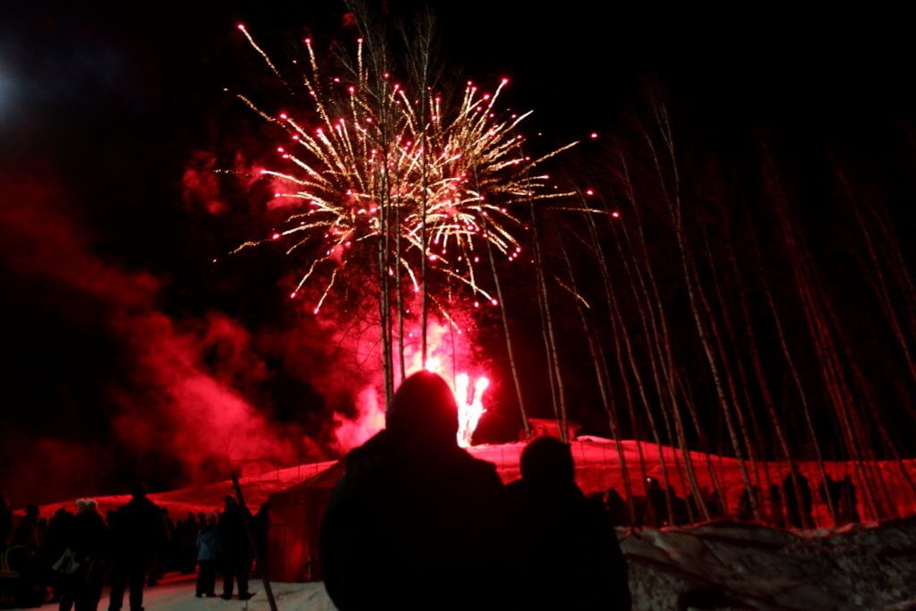 riverview winter carnival fireworks february pickle planet moncton