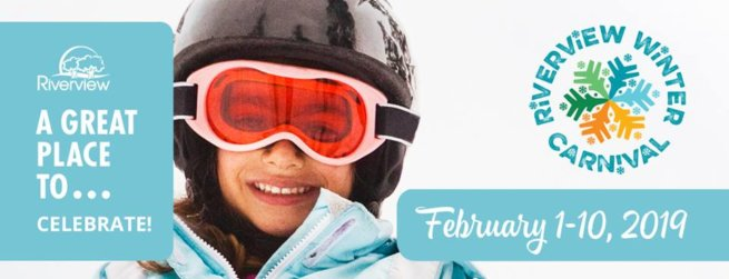 riverview winter carnival events activities kids teens tweens family schedule pickle planet