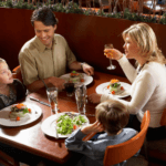 family eating at restaurant liquor laws moncton new brunswick adults kids groups