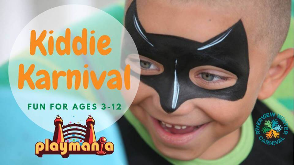 riverview winter carnival kiddie karnival kids events bouncy castles fun